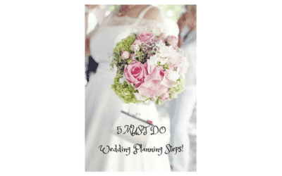Steps to Planning your Wedding