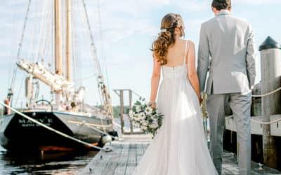 Maine Maritime Museum Wedding in Bath, Maine