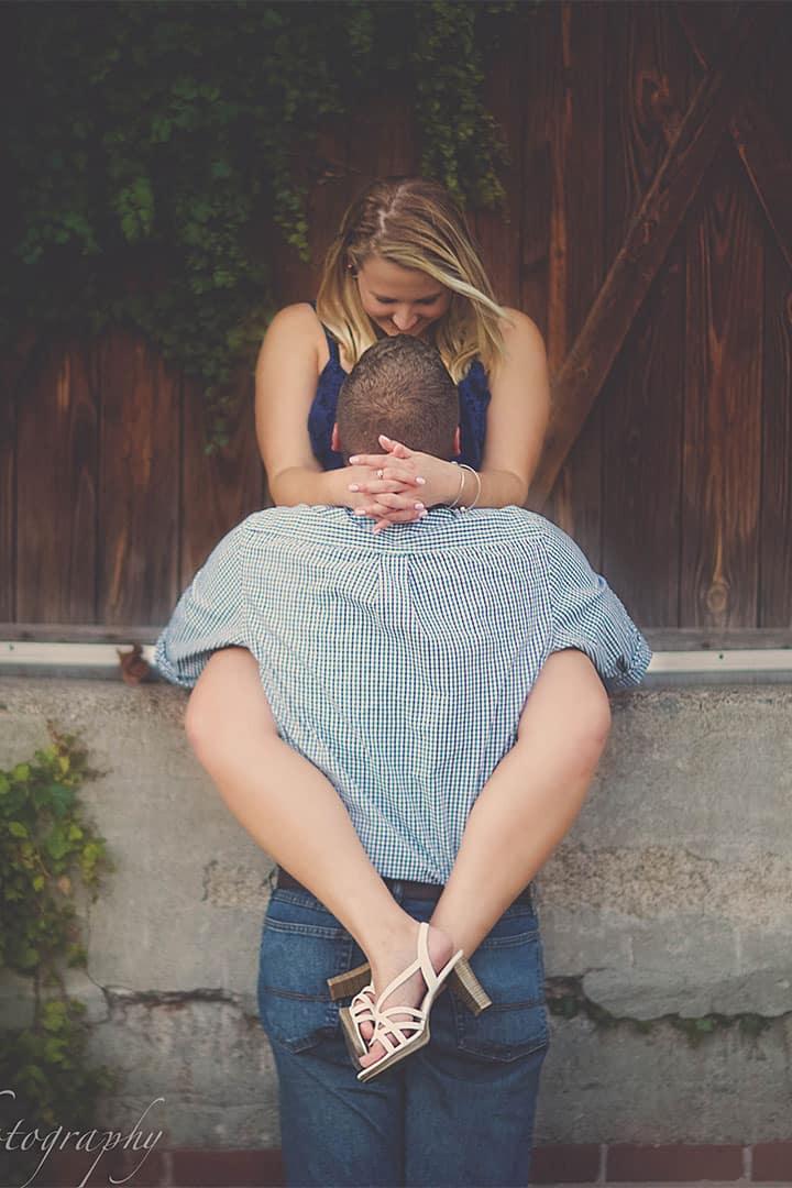 maine couple engagement photos